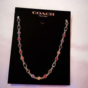 Coach Tennis Necklace
